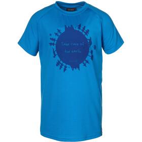 Isbjörn Earth t-shirt Kinderen blauw